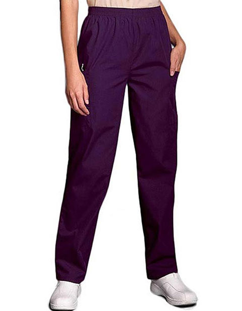 PU Made To Order Unisex Elastic Waist Cargo Scrub Pants