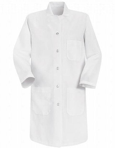 Red Kap Womens Three Pocket 37 Inches Long Medical Lab Coat
