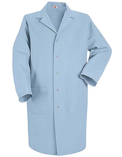 Red Kap Mens Three Pocket 41.5 Inches Medical Lab Coat