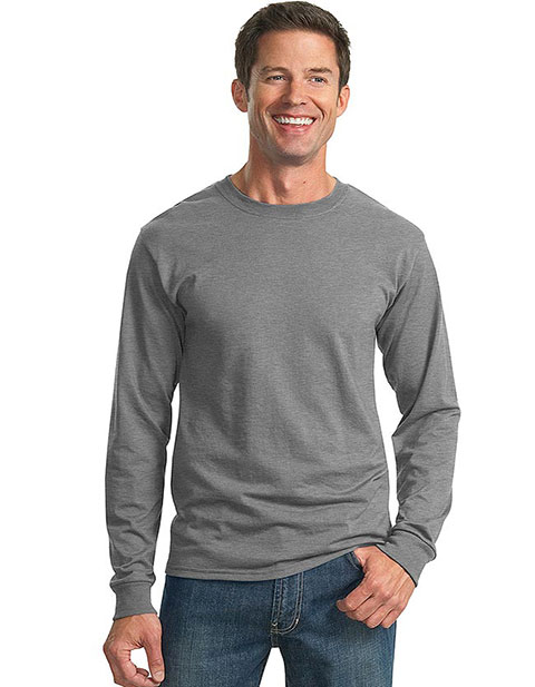 Sanmar JERZEES Men Poly-Cotton Long Sleeved T-Shirt