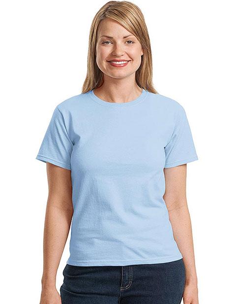 Sanmar Hanes Womens Crewneck T-Shirt