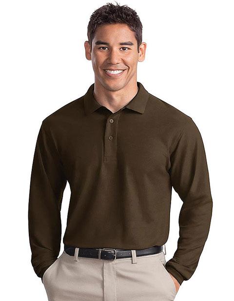 Sanmar Port Authority Men Silk Touch Long Sleeve Sport Shirt