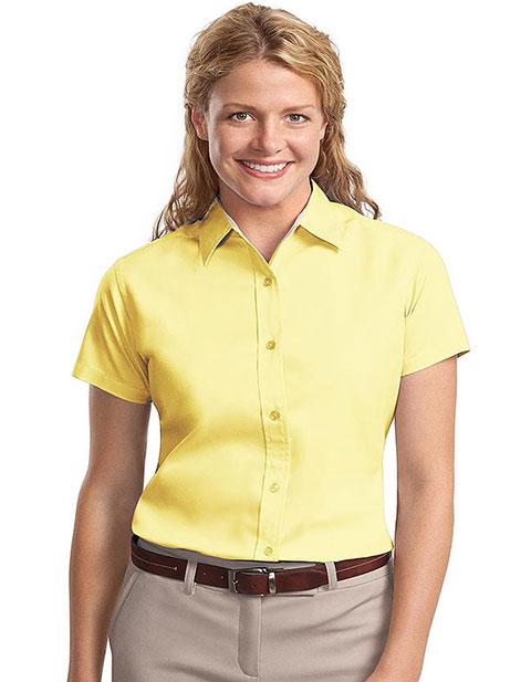 Sanmar Port Authority Womens Easy Care Short Sleeve Shirt