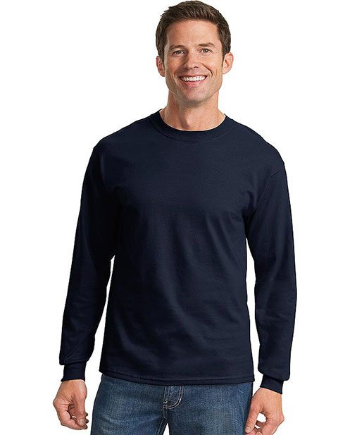 Sanmar Port & Company Cotton Essential Long Sleeve T-Shirt
