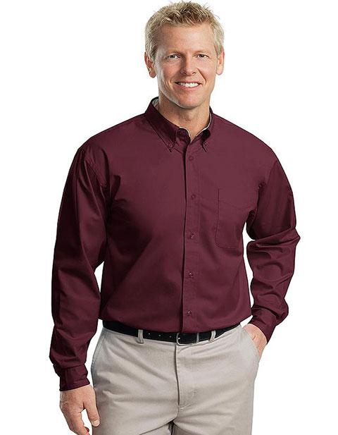 Sanmar Port Authority Men's Long Sleeve Easy Care Shirt