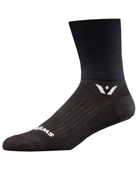 Swiftwick Unisex 1 Pair Pack Crew Sock