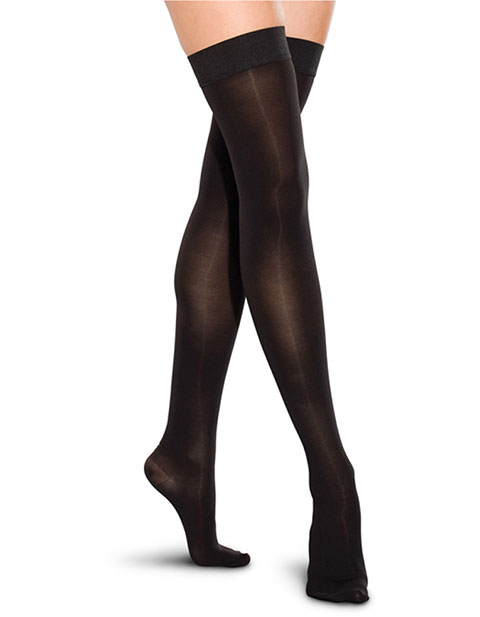 Therafirm Unisex 20-30 Mmhg Thigh High Closed Toe