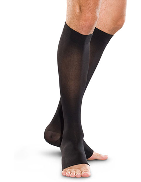 Therafirm Unisex 30-40 Mmhg Knee-High Open Toe