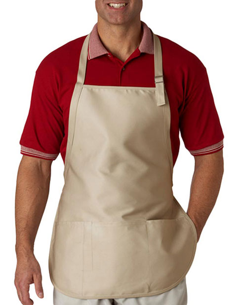 8205 UltraClub® Three-Pocket Apron with Buckle