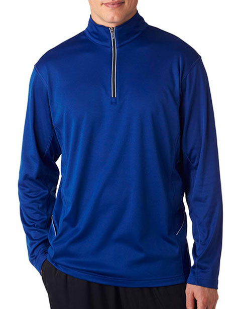 8230 UltraClub Adult Cool & Dry Sport 1/4-Zip Pullover