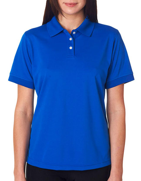 UltraClub Ladies' Platinum Performance Piqué Polo with TempControl