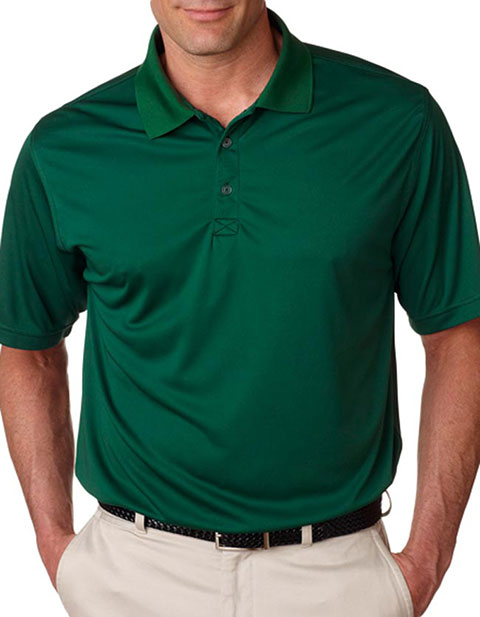 UltraClub Men's Cool & Dry Sport Snag-Resistant Performance Polo