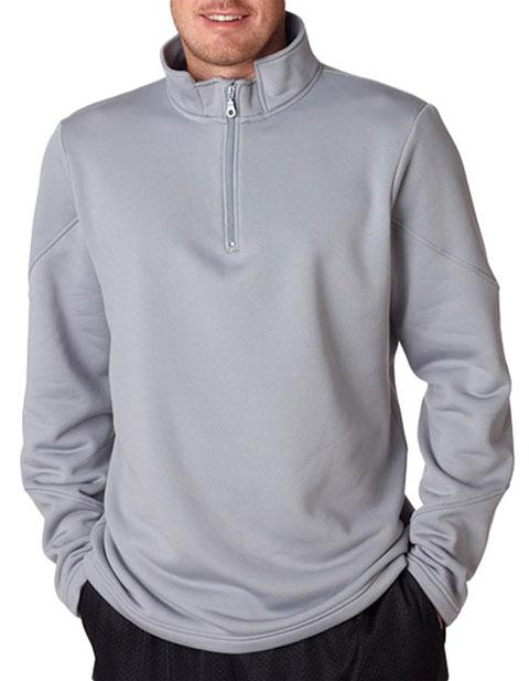 8440 UltraClub Adult Cool & Dry Sport 1/4-Zip Fleece