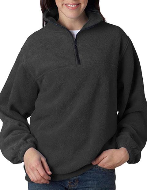 UltraClub® Adult Iceberg Fleece 1/4-Zip Pullover