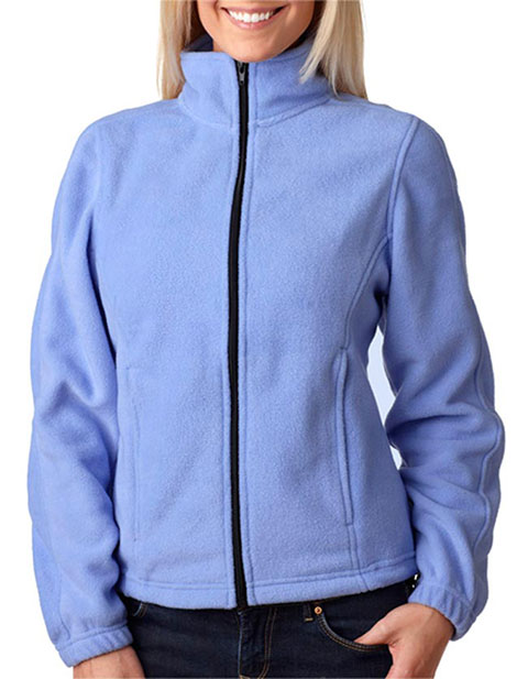 8481 UltraClub Ladies' Iceberg Fleece Full-Zip Jacket