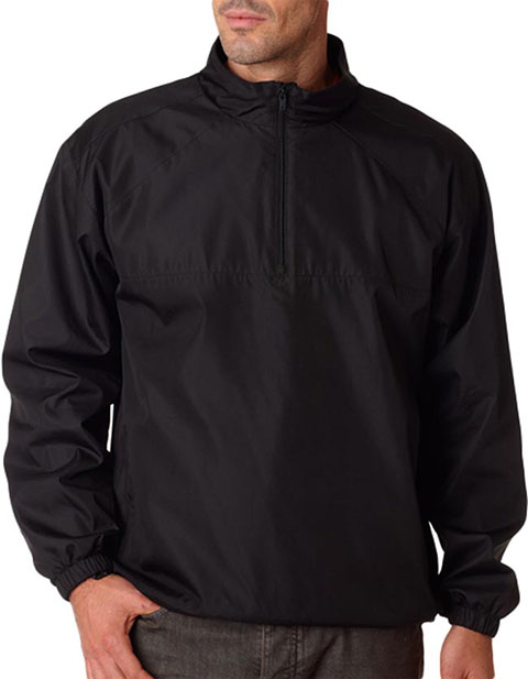 8936 UltraClub® Adult Micro-Poly Windshirt