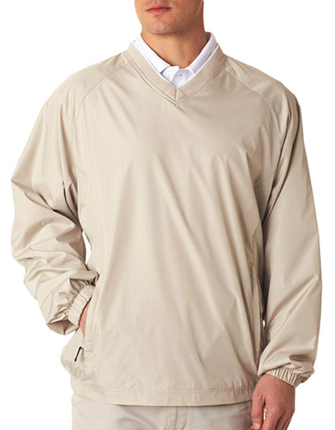 UltraClub® Adult Micro-Poly Windshirt