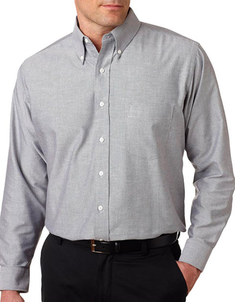 8970 UltraClub® Men's Classic Wrinkle-Free Long-Sleeve Oxford