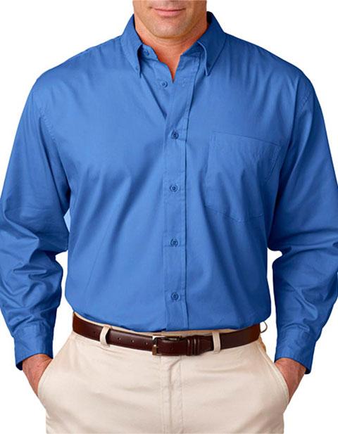8975T UltraClub® Men's Tall Whisper Twill Shirt