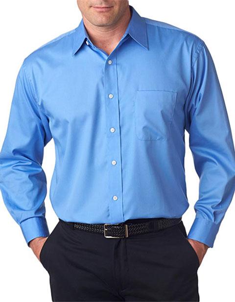 UltraClub® Men's Whisper Elite Twill Shirt