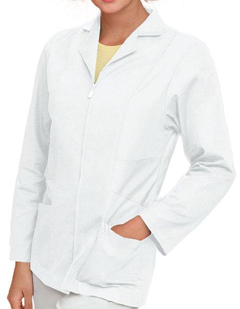 Urbane Womens Two Pocket 29 Inch Short Medical Lab Coat