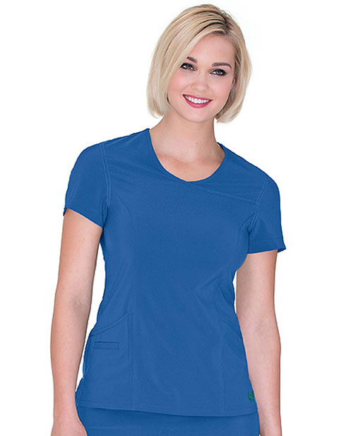 Urbane Women's (Propel) Surplice Solid Scrub Top