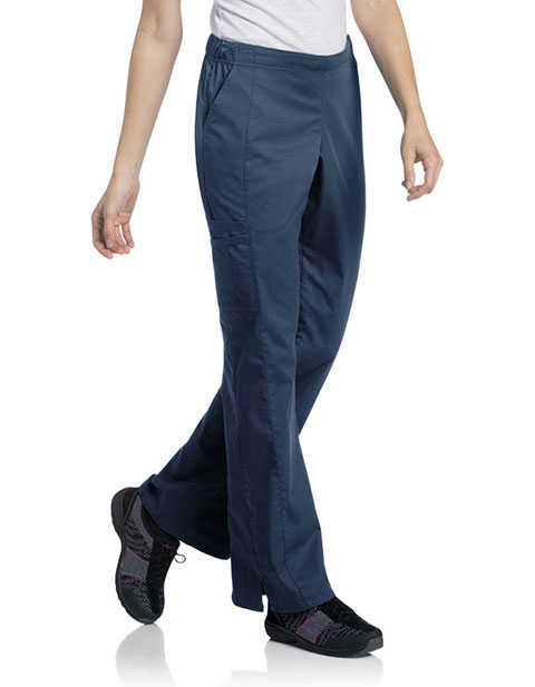 Urbane Women's Uflex Cargo Petite Scrub Pant