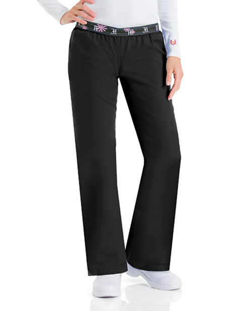 Urbane Womens Single Pocket Work It Medical Scrub Pants