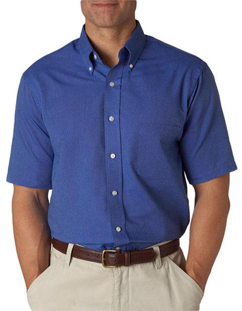 57850 Van Heusen Men's Classic Short-Sleeve Oxford