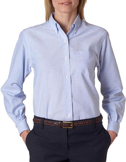 58800 Van Heusen Ladies' Classic Long-Sleeve Oxford