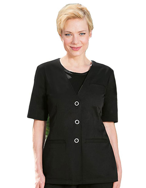 Barco Verite Fina Women's Snap Button Adjustable Elbow Length Jacket