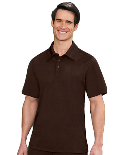Barco Verite Dante Men's Short Sleeve Polo with Three Buttons