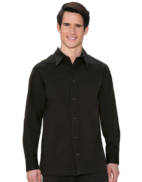Barco Verite Ennio Men's Shirt with Side Pockets and Hidden Button