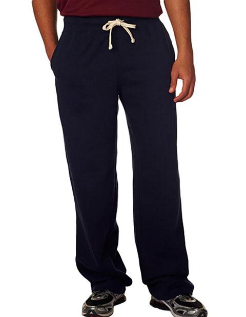 7766 Weatherproof Adult Cross Weave® Open-Bottom Blend Sweatpants