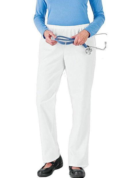 White Swan Fundamentals Womens Two Pocket Scrub Pants