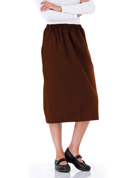 White Swan Fundamentals Womens Elastic Waist Skirt