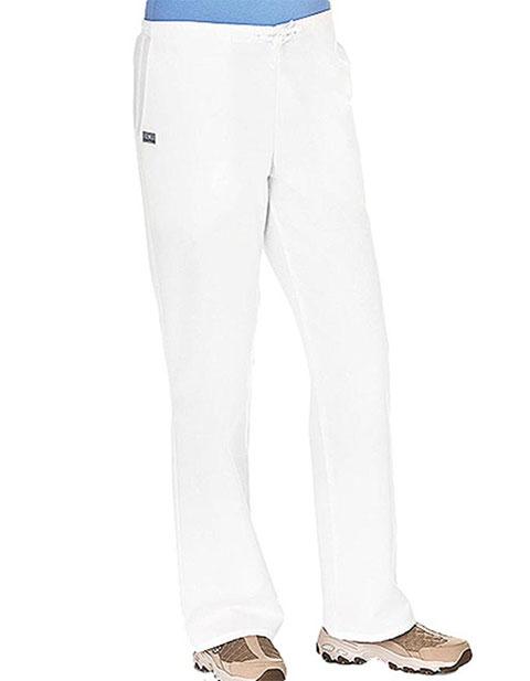 White Swan Fundamentals Ladies Drawstring & Elastic Petite Scrub Pant