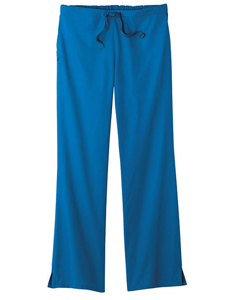 White Swan Fundamentals Women'S Mid-Rise Professional Drawstring Pant