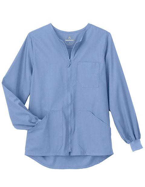 White Swan Fundamentals Unisex Four Pocket Warm Up Jacket