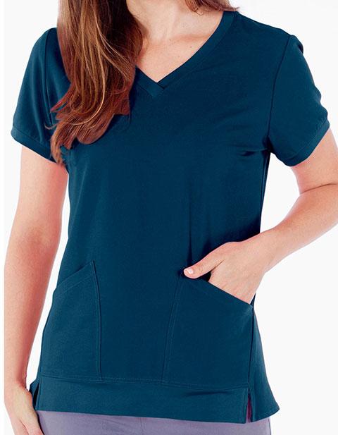 White Cross Marvella Women's Patch pockets V-neck top