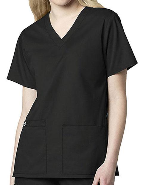 Wink Scrubs Women's V-Neck Medical Scrub Top