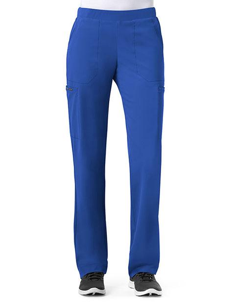 WonderWink HP Women's Tall Modern Straight Leg Pull On Pant