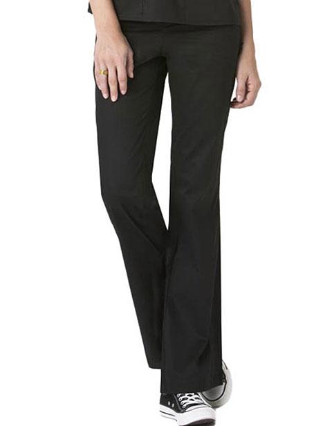 Wink Scrubs Women Flare Leg Flat Front Flex Waist Pants