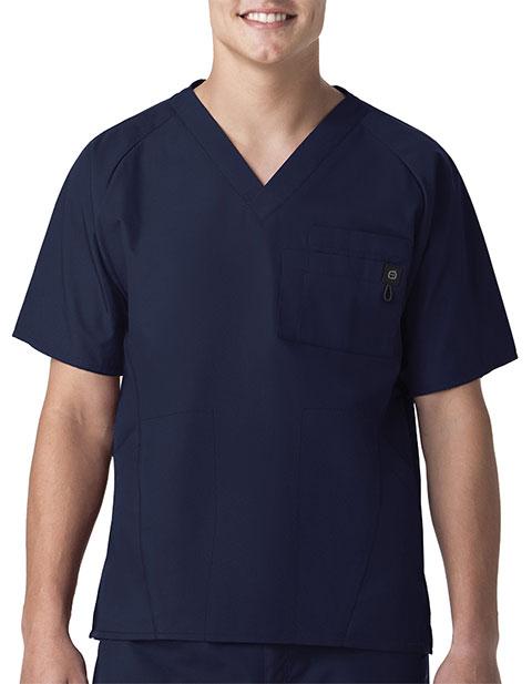 Wink Scrubs Men's Raglan Solid 5-Pocket Nursing Top