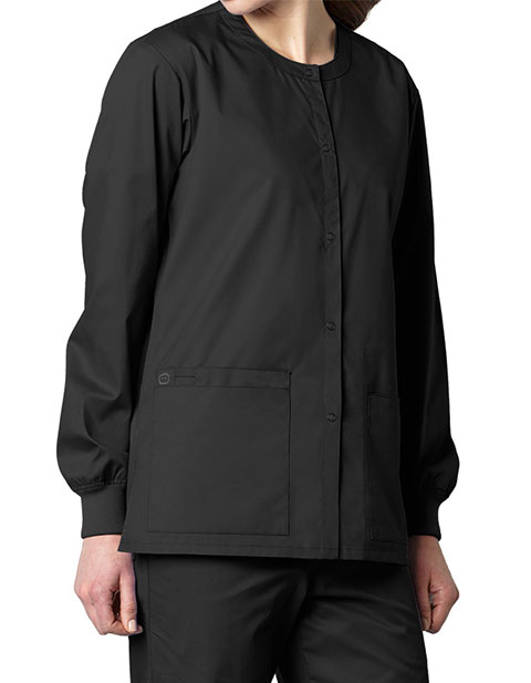 Buy Wink Scrubs Unisex Snap Front Nursing Jacket For 20 99