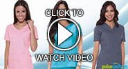 dickies soft works scrub tops video