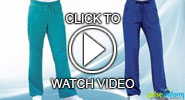 barco scrub pants video