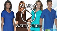 video - skechers solid scrubs