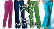 cherokee scrub pants video